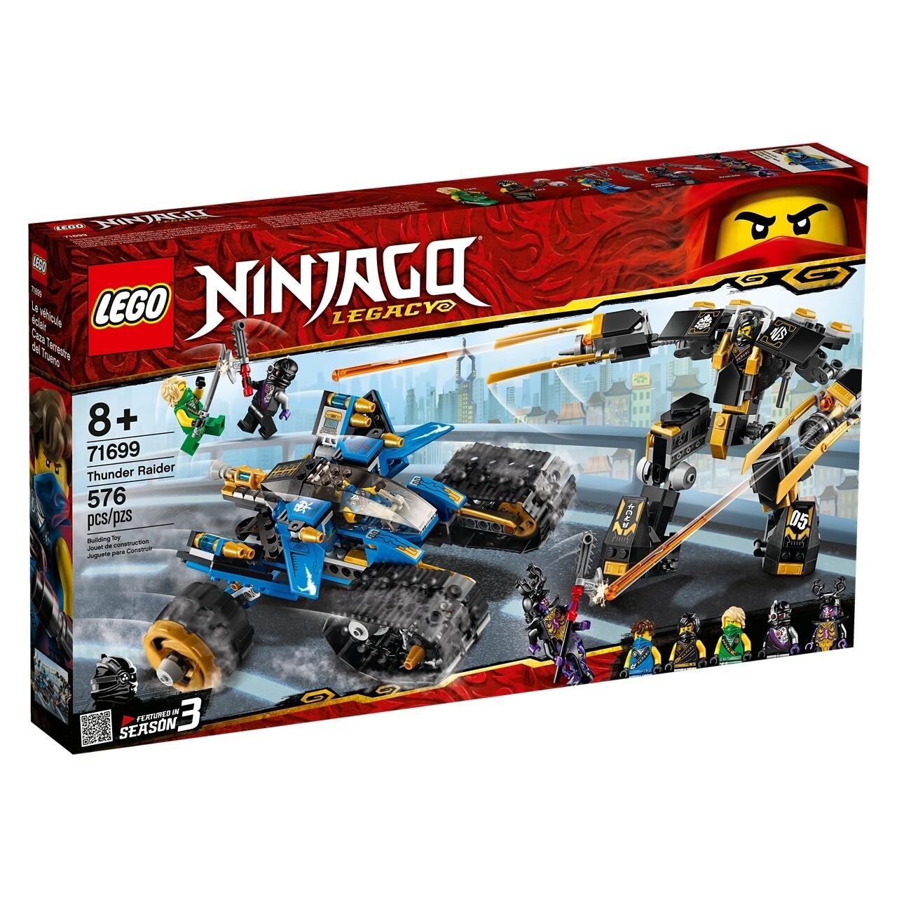 Конструктор LEGO Ninjago 71699 Внедорожник-молния
