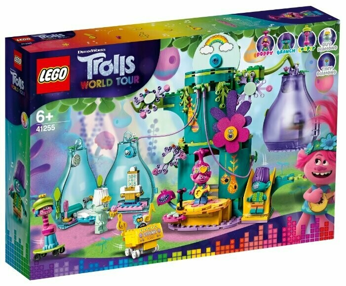 Конструктор LEGO Trolls World Tour 41255 Праздник в Поп-сити