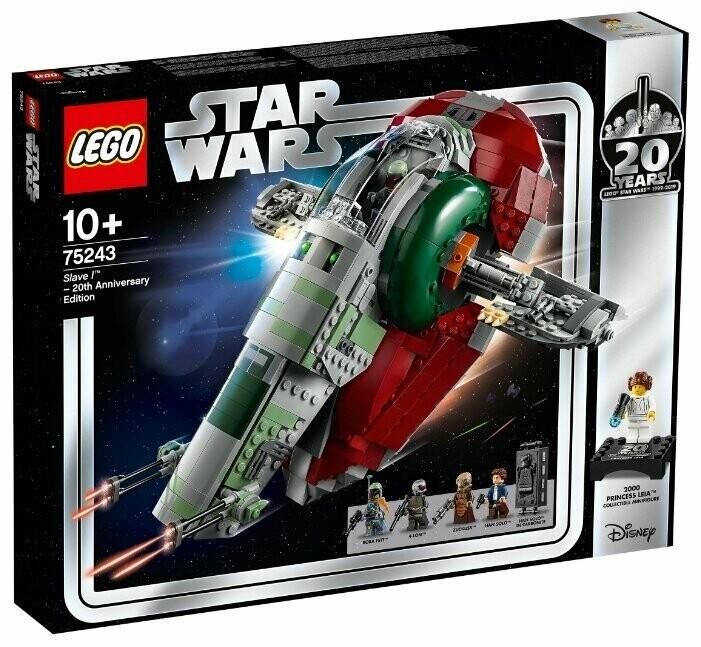 Конструктор LEGO Star Wars 75243 Слэйв - 1: выпуск к 20-летнему юбилею