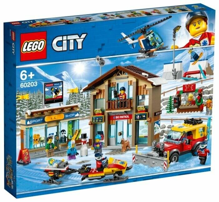 Конструктор LEGO City 60203 Горнолыжный курорт