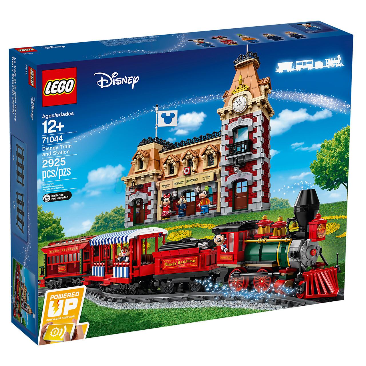 Электромеханический конструктор LEGO Disney Princess 71044 Поезд и станция