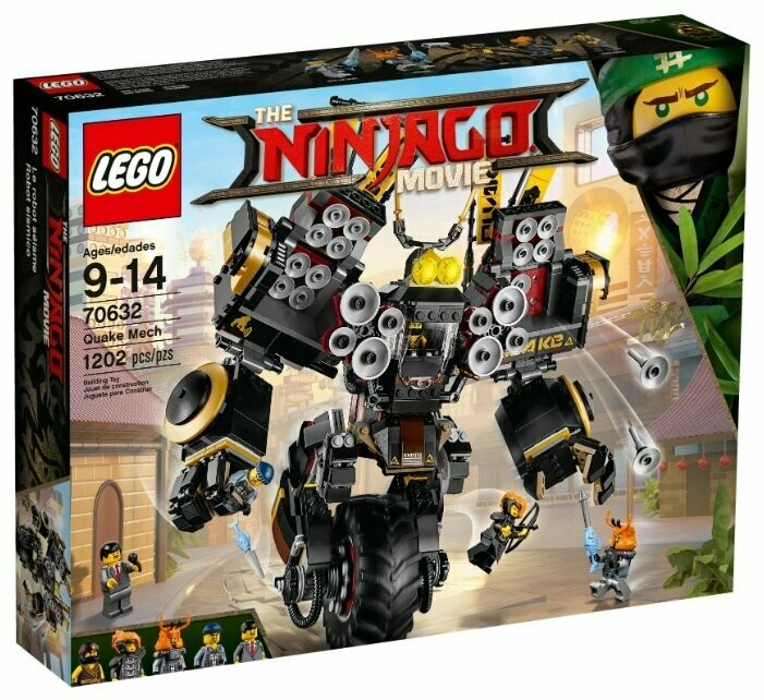 Конструктор LEGO The Ninjago Movie 70632 Робот землетрясений
