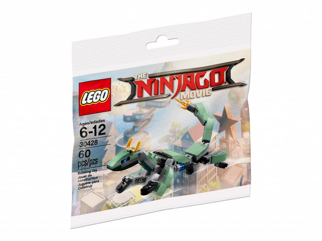 Конструктор LEGO 30428 Ninjago Movie Дракон зеленого ниндзя