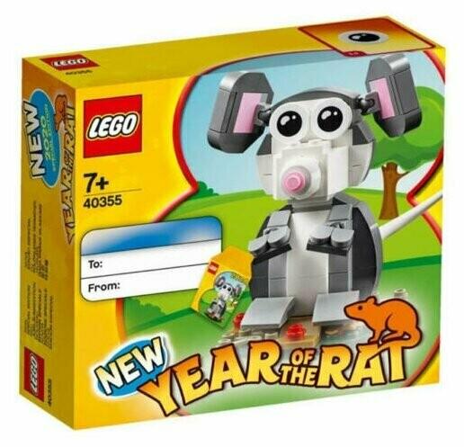 Конструктор LEGO Seasonal 40355 Year of the Rat