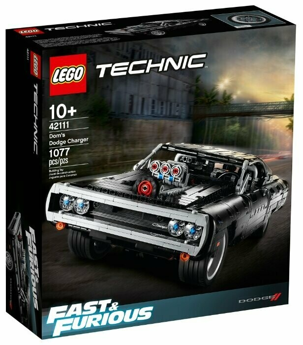Конструктор LEGO Technic 42111 Dodge Charger Доминика Торетто