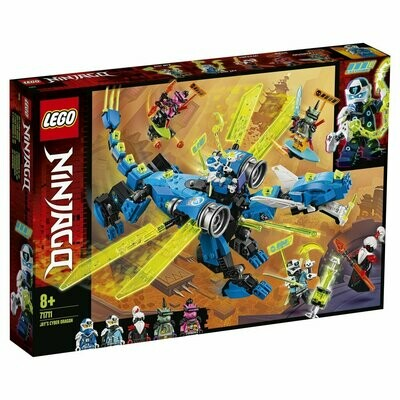 Конструктор LEGO Ninjago 71711 Кибердракон Джея