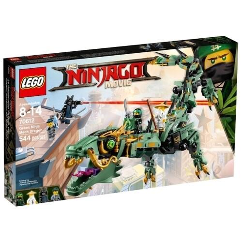 Конструктор LEGO The Ninjago Movie 70612 Механический дракон Зеленого ниндзя