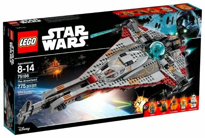 Конструктор LEGO Star Wars 75186 Стрела