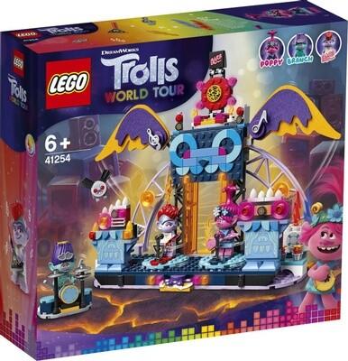 Конструктор LEGO Trolls World Tour 41254 Концерт в городе Рок-на-Вулкане