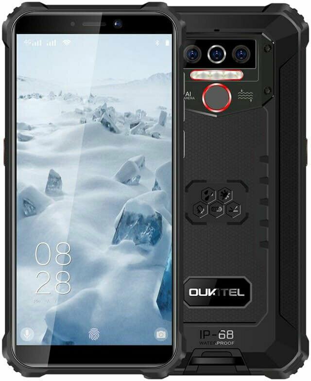 Смартфон OUKITEL WP5 Pro (Черный)