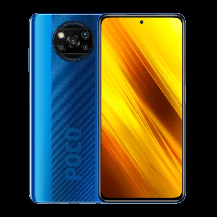 Смартфон Xiaomi Poco X3 NFC 6/128GB (Синий)