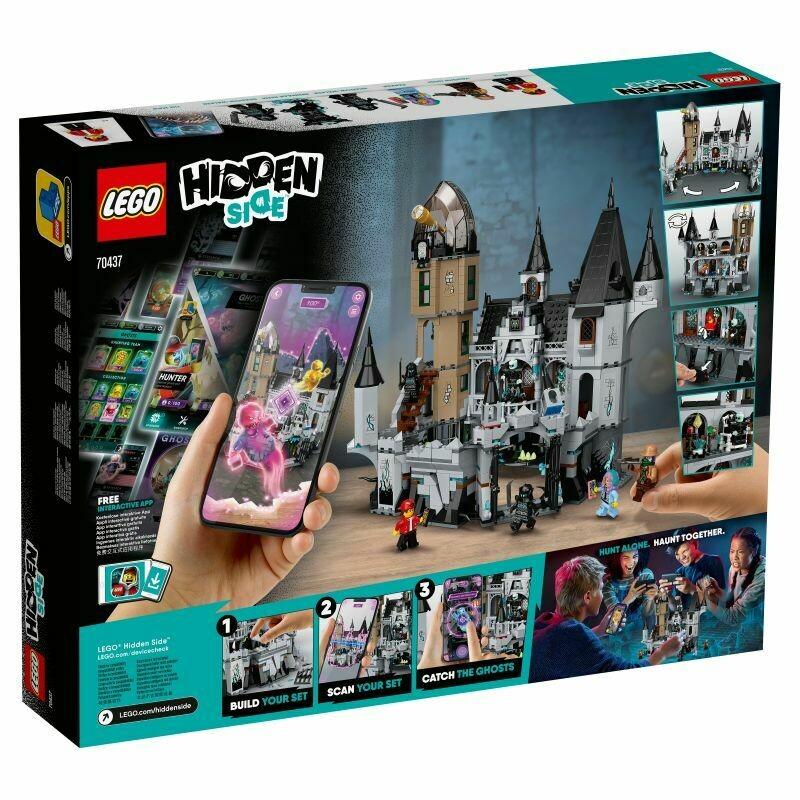 Конструктор LEGO Hidden Side 70437 Заколдованный замок