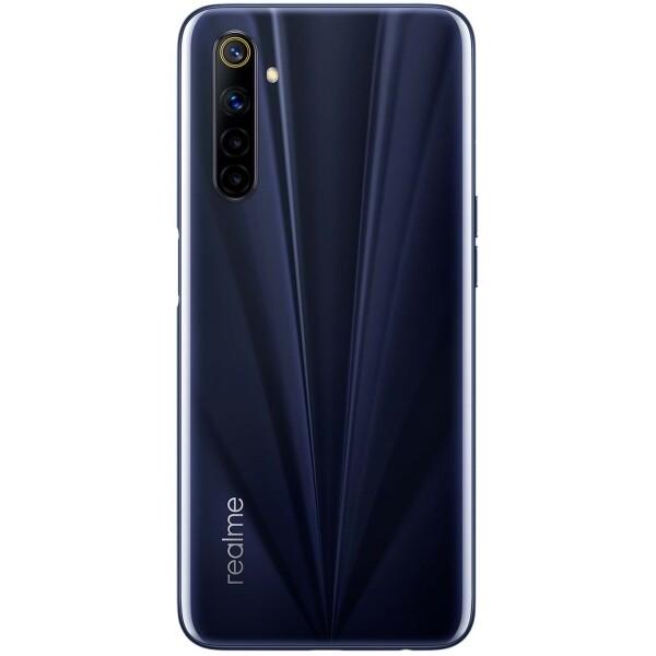 Смартфон realme 6S 6/128GB (Eclipse Black) RU/A