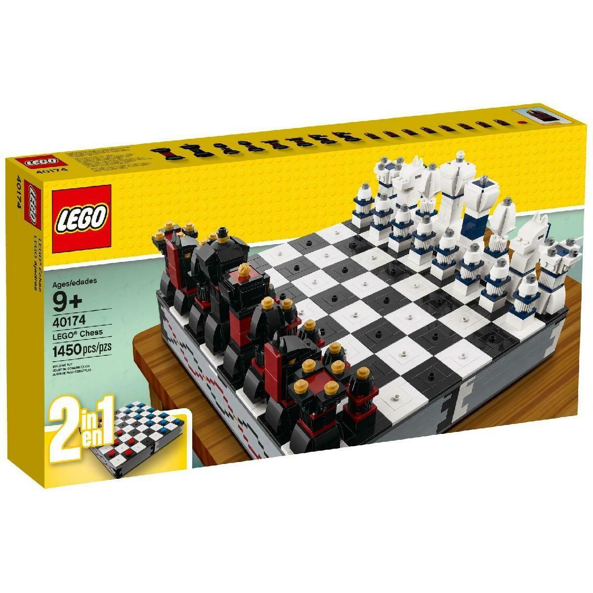 Конструктор LEGO Creator 40174 Шахматы и шашки