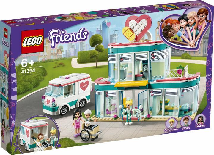 Конструктор LEGO Friends 41394 Городская больница Хартлейк Сити