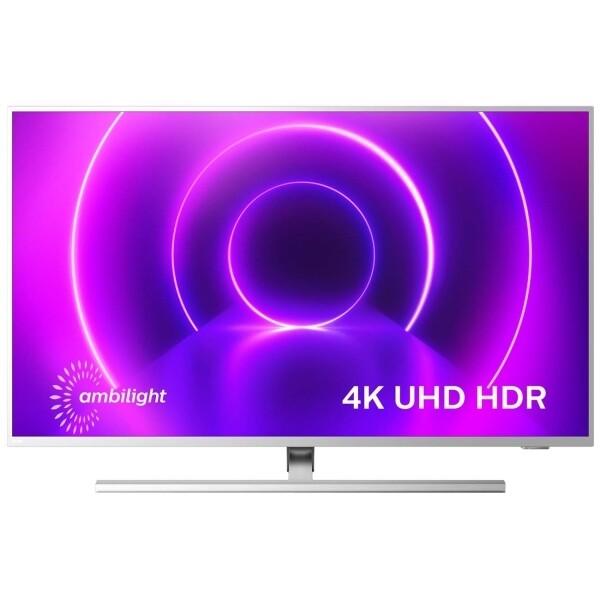 """Телевизор Philips 50PUS8505 50"""" (2020), светло-серебристый"""