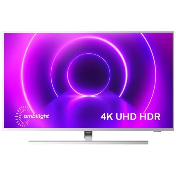 """Телевизор Philips 58PUS8505 58"""" (2020), светло-серебристый"""