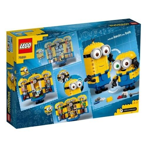 Конструктор LEGO Minions 75551 Фигурки миньонов и их дом