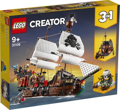 Конструктор LEGO Creator 31109 Пиратский корабль