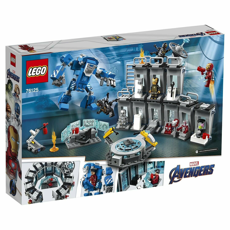 Конструктор LEGO Marvel Super Heroes 76125 Лаборатория Железного человека