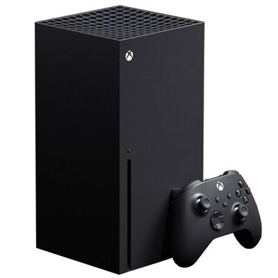 Игровая приставка Microsoft Xbox Series X 1 ТБ, черный,