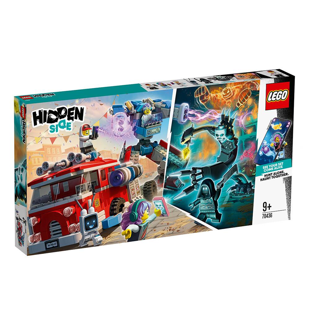 Конструктор LEGO Hidden Side 70436 Фантомная пожарная машина 3000