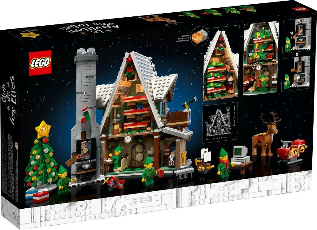 Конструктор LEGO Creator 10275 Домик Эльфов