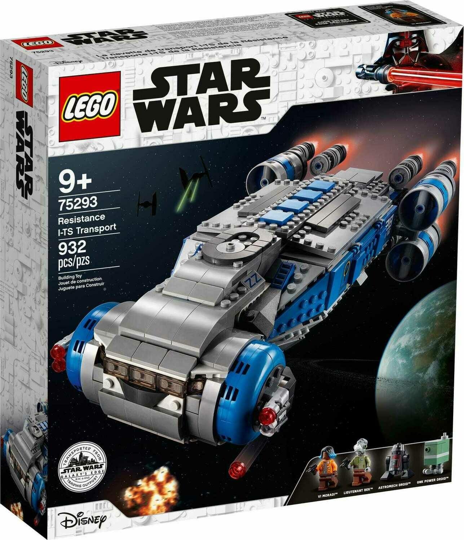 Конструктор LEGO Star Wars 75293 Транспортный корабль Сопротивления I-TS