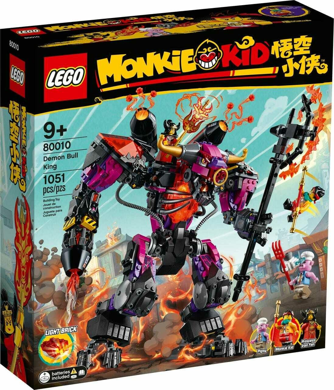 Конструктор LEGO Monkie Kid 80010 Царь быков