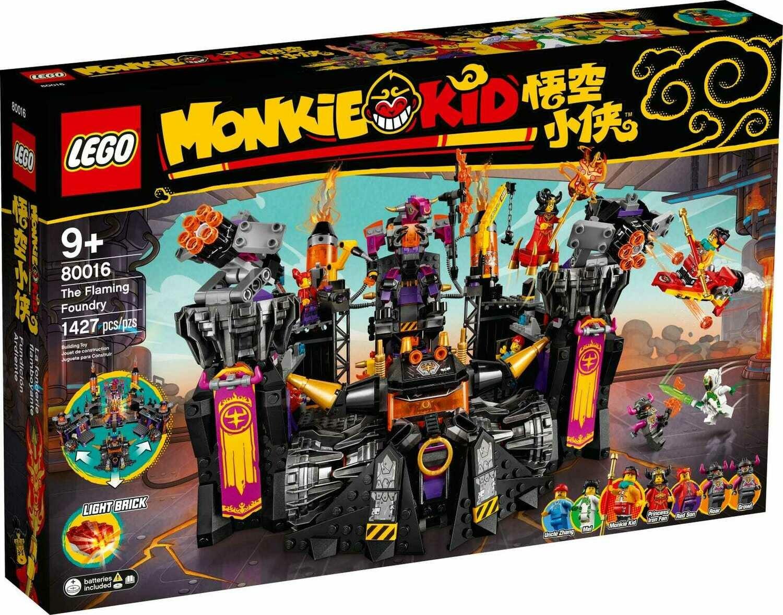 Конструктор LEGO Monkie Kid 80016 Огненная кузница