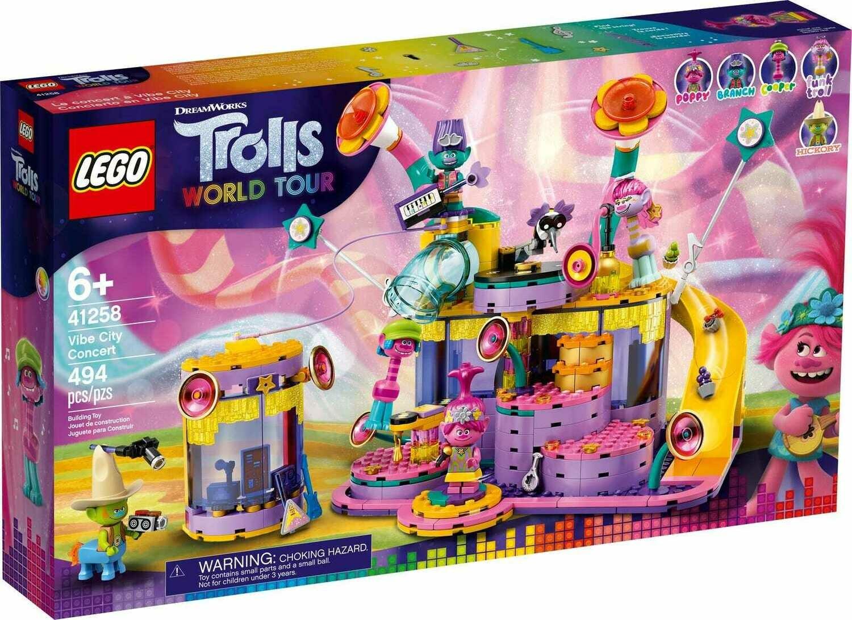 Конструктор LEGO Trolls 41258 Концерт в Фанк-сити