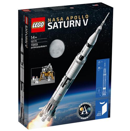 Конструктор LEGO Ideas 92176 Ракетно-космическая система НАСА Сатурн-5-Аполлон