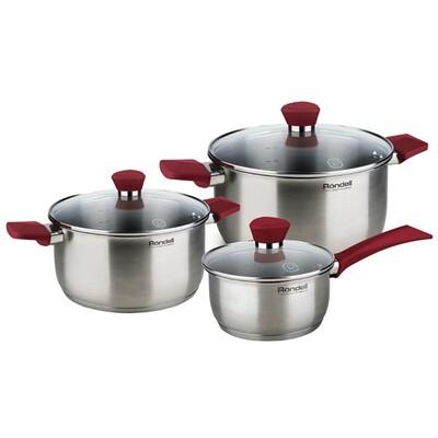 Набор посуды Rondell Strike RDS-817 6 пр.
