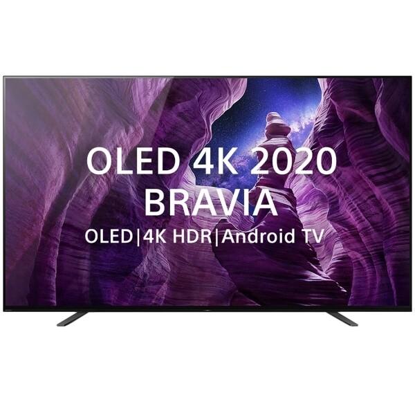 "Телевизор OLED Sony KD-55A8 54.6"" (2020), черный"