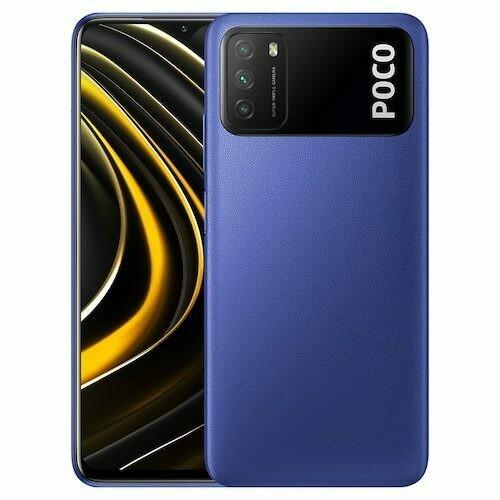 Смартфон Xiaomi Poco M3 4/128GB (Синий)