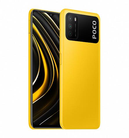 Смартфон Xiaomi Poco M3 4/128GB (Желтый)
