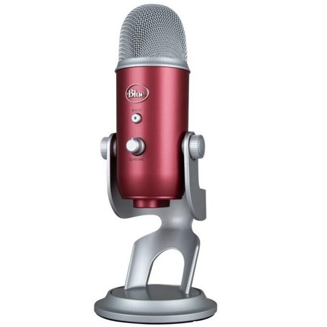 Микрофон Blue Yeti (Красный)