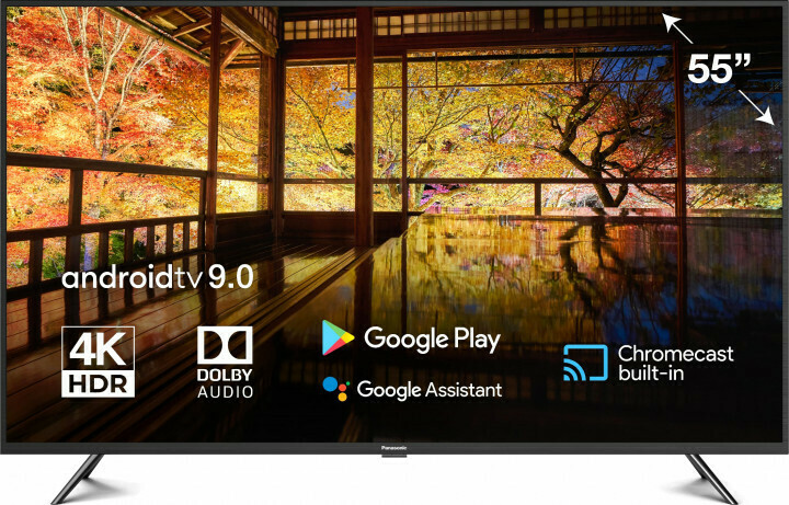"Телевизор Panasonic TX-55HXR700 55"" (2020), черный"