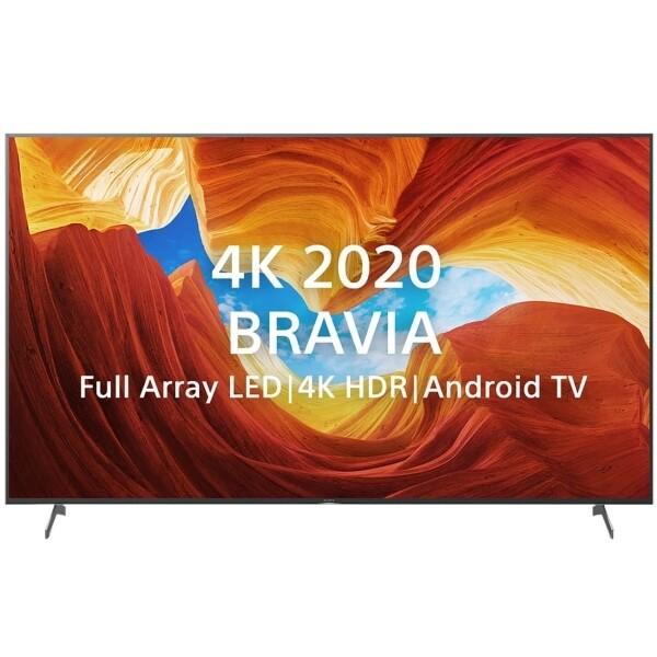 """Телевизор Sony KD-65XH9077 64.5"""" (2020), серебристый"""