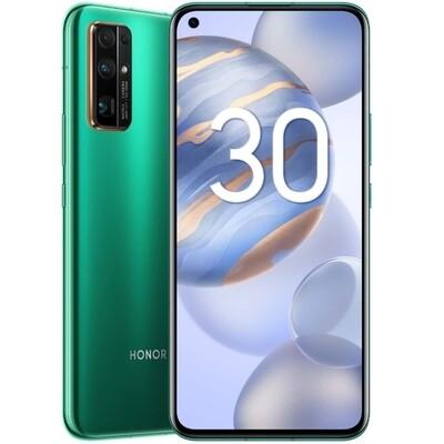 Смартфон HONOR 30 8/128GB (Изумрудно-зеленый) RU/A