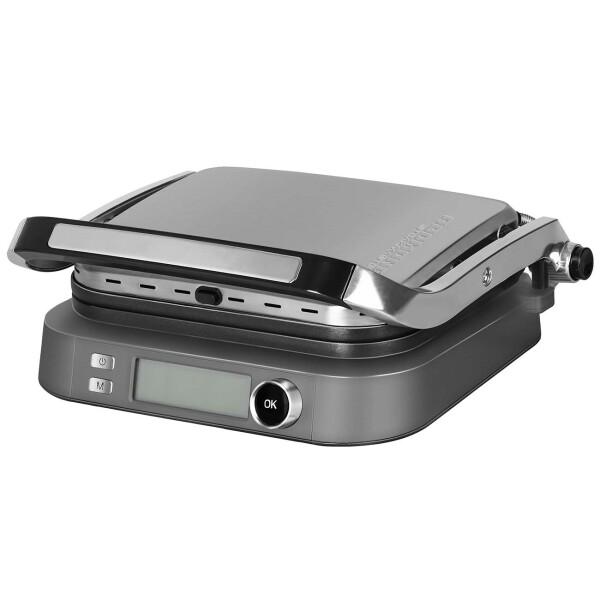 Гриль REDMOND SteakMaster RGM-M816P, серебристый металлик
