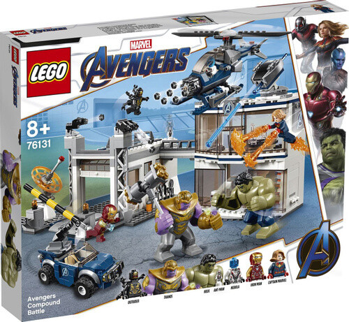 Конструктор LEGO Marvel Super Heroes 76131 Avengers Битва на базе Мстителей