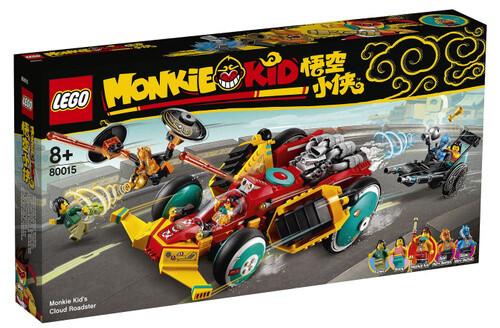 Конструктор LEGO Monkie Kid 80015 Реактивный родстер Манки Кида