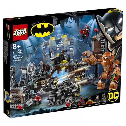 Конструктор LEGO DC Super Heroes 76122 Вторжение Глиноликого в бэт-пещеру