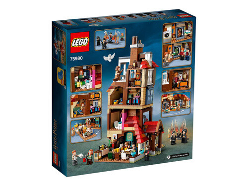 Конструктор LEGO Harry Potter 75980 Нападение на Нору