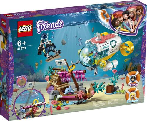 Конструктор LEGO Friends 41378 Спасение дельфинов