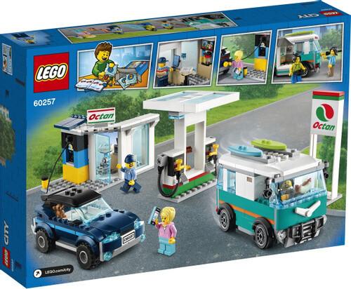Конструктор LEGO City 60257 Станция технического обслуживания