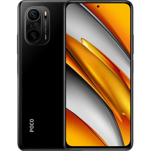 Смартфон Xiaomi POCO F3 8/256GB RU, черная ночь
