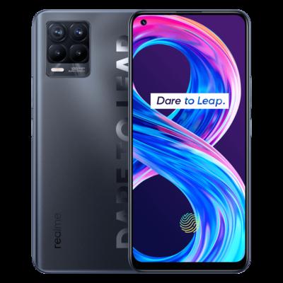 Смартфон Realme 8 Pro 6/128GB, глубокий черный