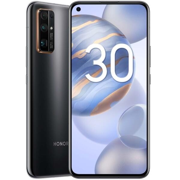 Смартфон HONOR 30 8/256GB, полночный черный